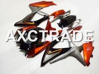 Injection Molidng ABS Plastic Motorcycle Bodywork Fairing Kit For Suzuki GSXR600 GSXR750 2008 2009 2010 GSX R 600 750 K8 K842