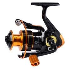 REB1000-7000 Cast Drum Wheel 12BB 5.2:1 Gear Ratio Metal Fishing Line Coil Reel Angling Tool Carp Fishing Tackle Baitcast Wheel
