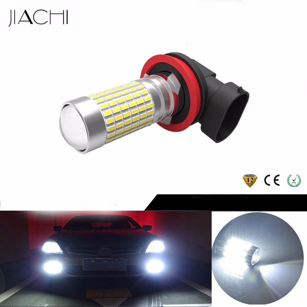 JIACHI 100PCS Lot Auto LED H11 H8 H16 Fog Lamp For Car 9006 HB4 9005 HB3