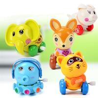 10 Pack Classic Kids Funny Wind Up Toys Assorted Winder Clockwork Toys Animal For Children'S Party Gifts Kids Birthday Random