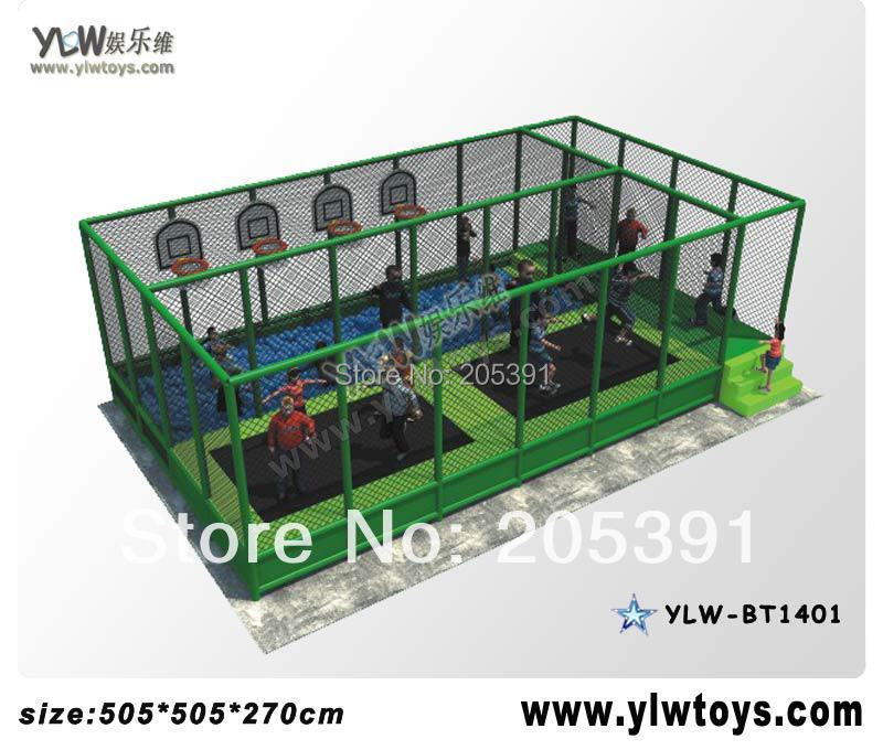 indoor trampoline park with basket and pool,fitness trampoline for kids,sport trampoline with net protecting commercial sea inflatable blue water slide with pool and arch for kids