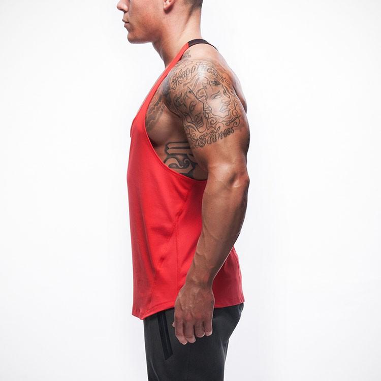 Gym Tank Top Men Undershirt Sports Wear GymShark Singlet Bodybuilding Men\'s Fitness Training Quick-drying Vest Sleeveless Shirt (5)
