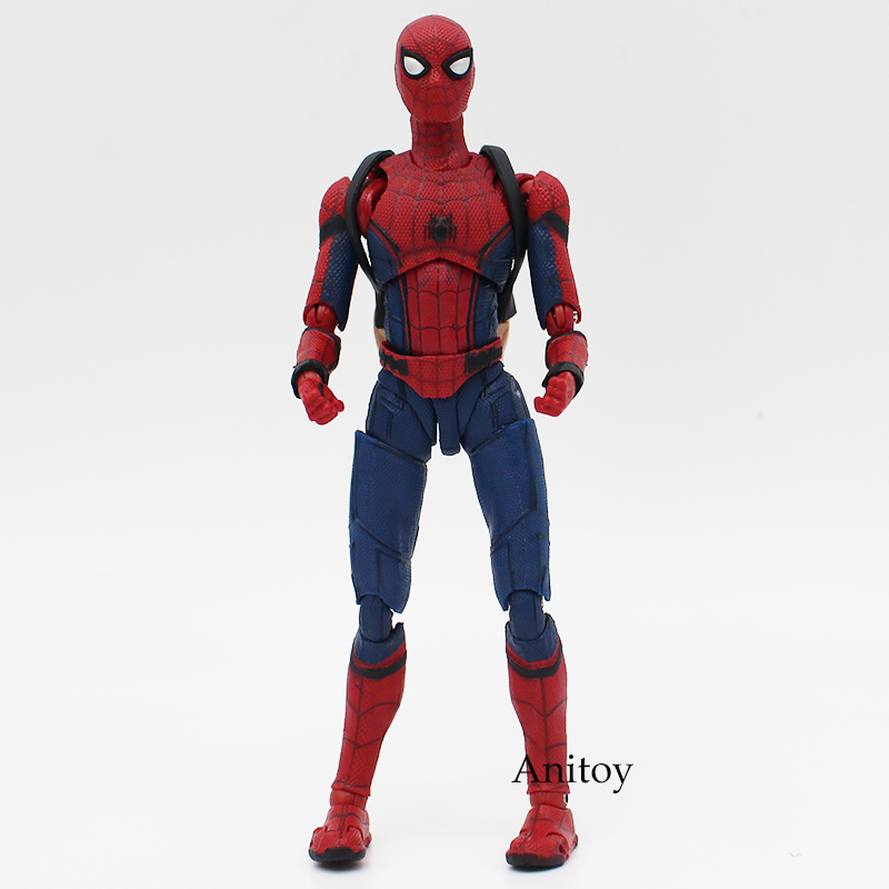 Spider Man Homecoming The Spiderman Simple Style & Herioc Action PVC Action Figure Collectible Model Toy 14cm 1
