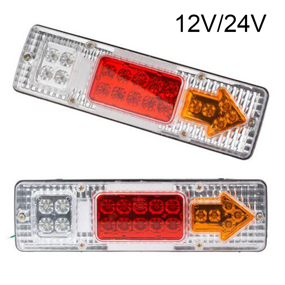 2 Sztuk 12 V24 V Wskaźnik Led Z Tyłu Ogon Stop Rewers Lampa