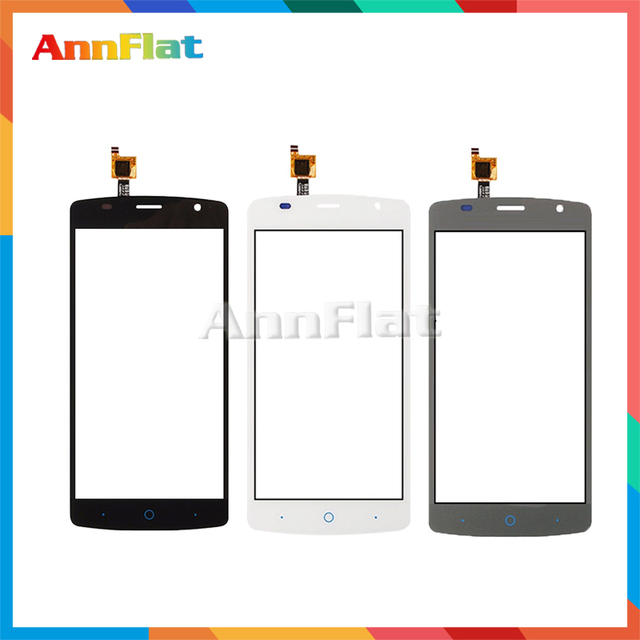 """10pcs/lot High Quality 5.0"""" For ZTE Blade L5 Plus Touch Screen Digitizer Front Glass Lens Sensor Panel Free Shipping"""