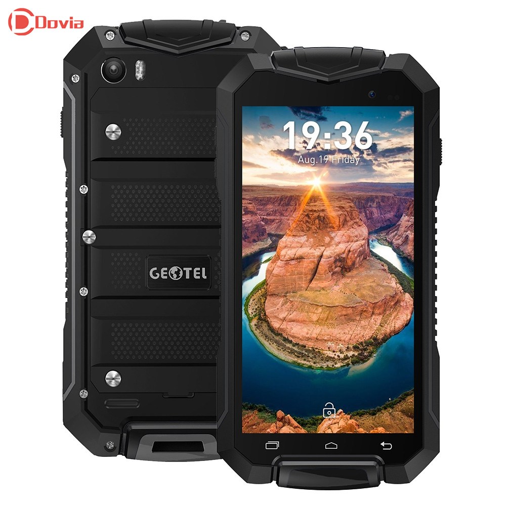 GEOTEL A1 3G Smartphone Android 7.0 4.5 inch MTK6580 Quad Core 1GB RAM 8GB ROM IP67 Waterproof Dustproof 8MP Camera Mobile Phone
