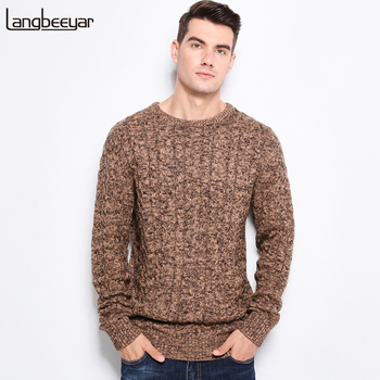 Men's Sweaters Warm Thick Slim Fit