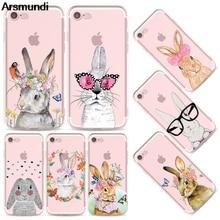 Arsmundi font b 2018 b font New Cute Cat Rabbit Phone Cases for font b iPhone