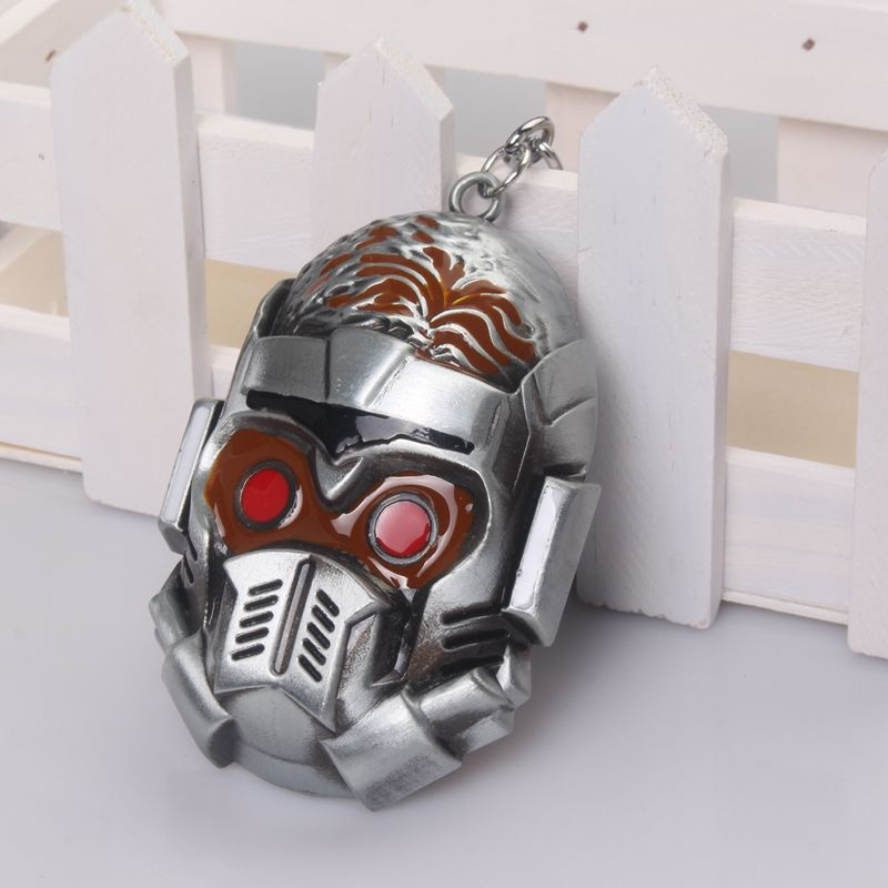 Game series Guardians of the galaxy mask keychain