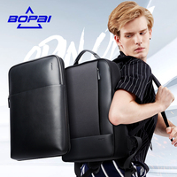 BOPAI Fashion Design 2 In 1 Backpacks For Men 15 6 14inch Detachable Laptop Backpack Waterproof
