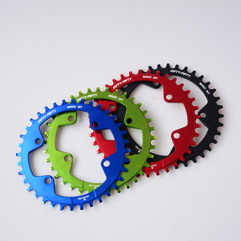 FIFTY-FIFTY 11s 96 BCD MTB Chain rings Mountain Bikes Hollow Repair Crankset Tooth Aluminum <font><b>chainring</b></font> For <font><b>M7000</b></font>/M8000M9000 crank image