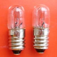 Miniature bulb 220/230/240v 3w E10 t10x28 A506 NEW  10pcs