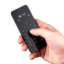 Anica A9 + MP3 FM две сим-карты bluetooth dialer OLED дисплей сенсорная клавиша синхронизация anti-потерял мини кредитной карты сотового мобильного телефона P246