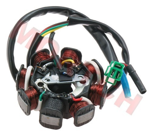 GY6 50cc 8 Pole Stator 5 Wires for Scooter ATV Go Karts Moped (Free Shipping)