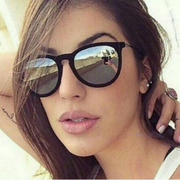Retro Sunglasses Women Men 2018 Brand Designer Round Sun Glasses Mirror lens for Man Lady Male Sunglasses Oculos De Sol Eyewear