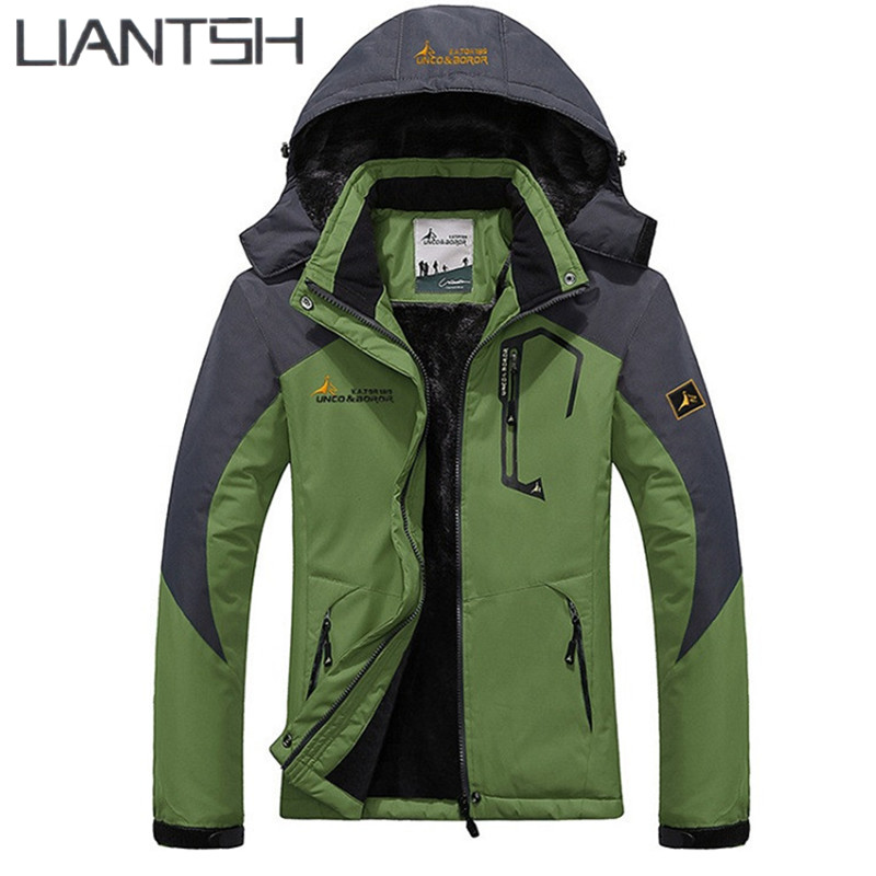 Best Wool Liner Warm Men Camping Hiking Outdoor Winter Jacket ...