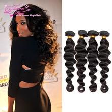 Brazilian Loose Deep Wave 4 Bundles Ms Lula Hair Company 8a Cheap Virgin Unprocessed Brazilian Virgin Hair Cheap