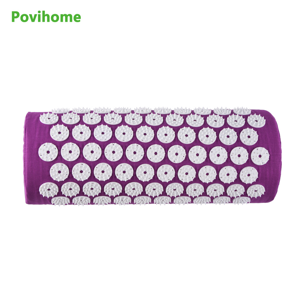 Waist And Neck Body Acupuncture Massage Device Cervical Pillow Yoga Home Massager Medical Relax Health Care Purple C11474 rajat sareen shiv kumar sareen and ruchika jaswal non carious cervical lesions