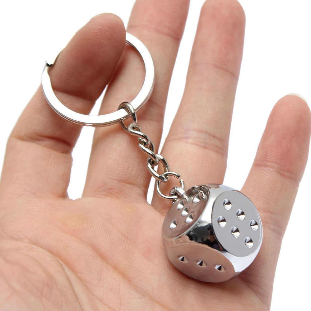 1x Creative Metal Car Keyring Key Chain Keychain Ring Keyfob Fashion Gift Unisex
