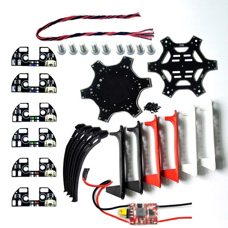 F550 Hexacopter Frame Plate Center Board F550 Frame Kit F550 Flamewheel for F550 Multicopter Drone Kit DIY краска черная duplo f 04h f550 f850 1000 мл