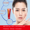2PCS Chinese medical components Facial freckle removal cream removing speckle Clean Face Pigment Fade Dark Spots Whitening Cream