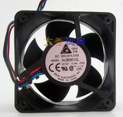 6025 12 V 0.16A cichy wentylator AUB0612L trzy linie 60x60x25mm w Wentylatory i chłodzenie od Komputer i biuro na