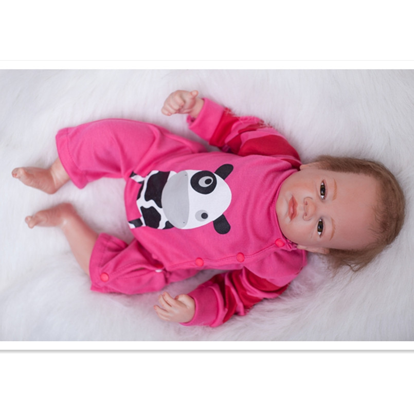 Real Reborn Babies Bonecas Reborn Dolls for Girls Children,19 Inch Reborn Dolls Babies Vinyl Silicone Dolls Looks so Real shenniu sn250 sn254 the set of fuel pipes of engine hb295t as picture showed