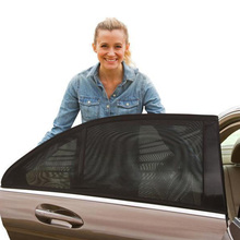 Universal 54*110 cm Car Window Sun Shade UV Protection Sun Shade Mesh Protection Against Mosquito Dust