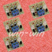 5PCS Simple Flash Circuit DIY Kits Electronic Suite Electronic