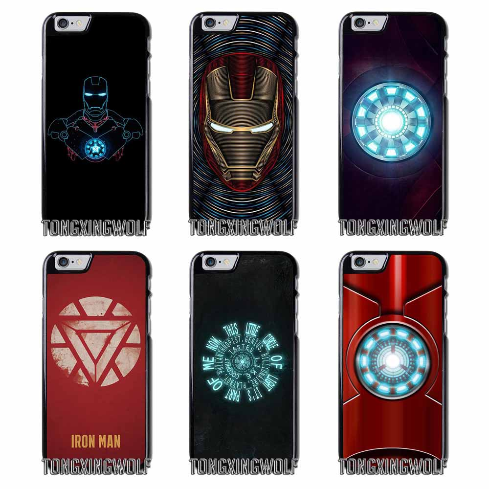 iron man arc reactor Cover Case For Samsung S4 S5 S6 S7 S8 Eege Plus Note 2 3 4 5 8 Huawei honor P8 P9 P10 Lite