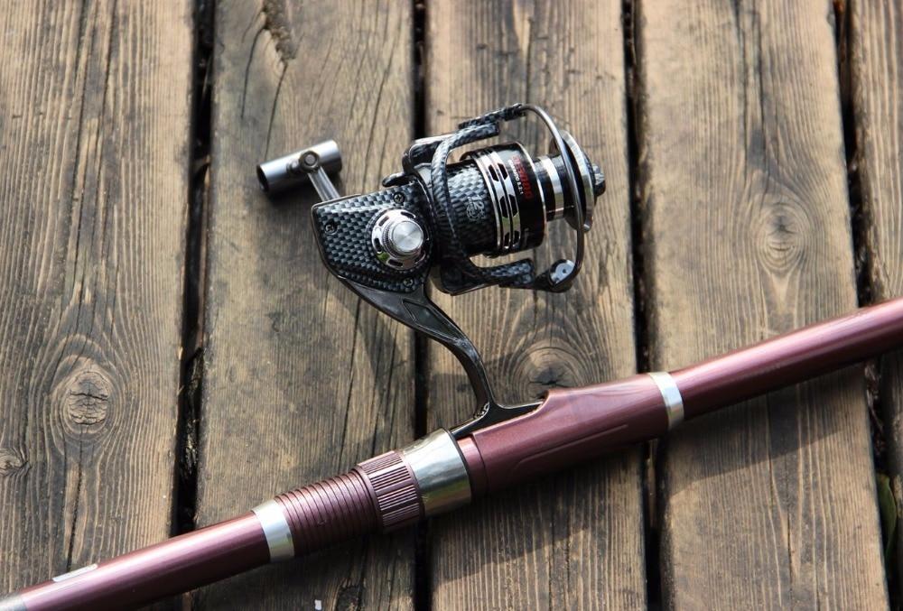 Fishing Reel + Rod ! Hot Sale Super Quality 3.0M Telescopic Fishing Rods + DE3000 Series Spinning Fishing Wheel Set Kit Tackle