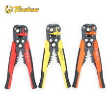 цена на Multifunction 8 Inch Wire Stripper 24-10 AWG Self Adjusting Mini Wire Stripper Tool Crimper Cable Cutter