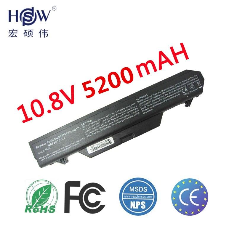 A HSW 6 célula de Bateria de Laptop 513129-361 513130-321 535808-001 Para HP ProBook 4510 s 4510 s/CT 4515 s 4515 s/CT 4520 s 4710 s 4710 s bateria