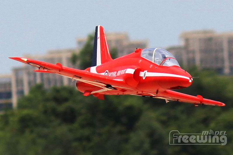 RC airplane EDF jet New Freewing Flightline Bae Hawk 70mm plane model 6S PNP