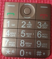 Original PHIXFTOP Russian Keypads For Philips E331 Cellphone Ker Button For Xenium CTE331 Mobile Phone Russian