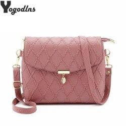 Новое поступление, модные роскошные женские сумки, дизайнерская сумка-мессенджер, розовая стеганая сумка, женские сумки через плечо