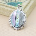30*37mm Women Hot sale prevalent Natural Abalone seashells short pendants jewelry making design Wholesale and retail Series
