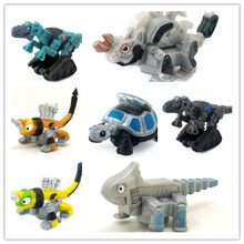 alloy car models Dinotrux Dinosaur toy car truck for children girls and boys(China)