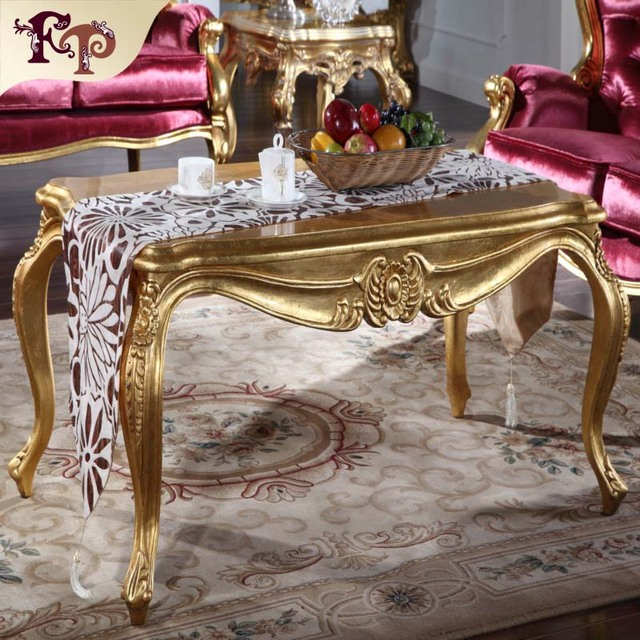 luxury  furniture italy design-solid wood hand carved square side table