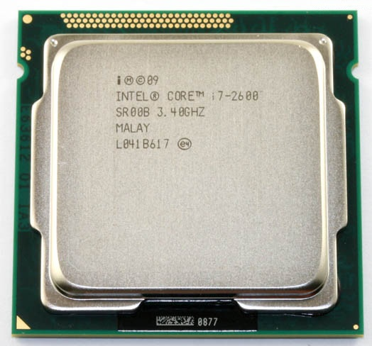 Intel Core i7 2600 3 4GHz Quad Core Processor 8MB 5GT s SR00B LGA 1155 cpu