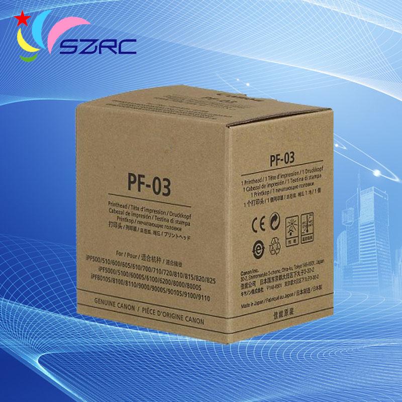 все цены на New Original PF-03 Printhead for canon iPF8010s 8100 8110 9000 9010S 510 600 610 700 710 720 810 820 825 5000 5100 Print head онлайн