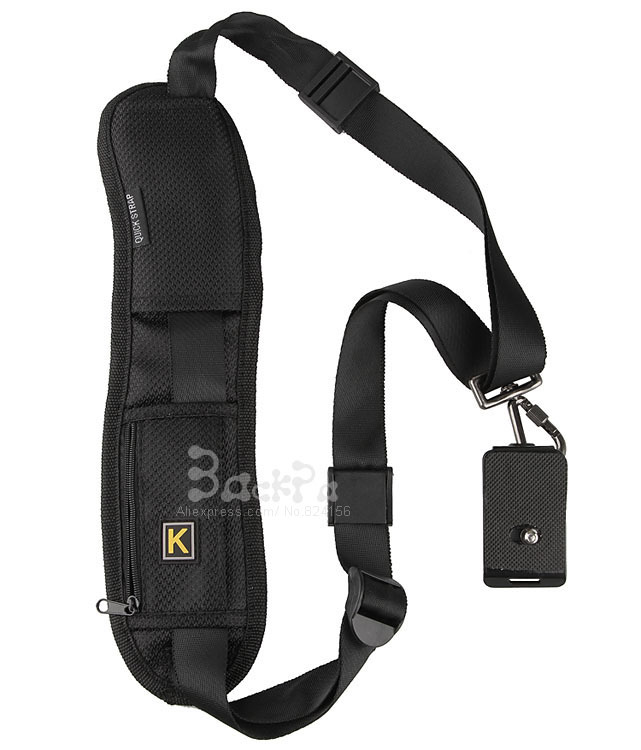 2015 New Camera strap shoulder neck quick sling belt for 60D 70D 5D 6D D7000 D7100 D5300 D90 DSLR image