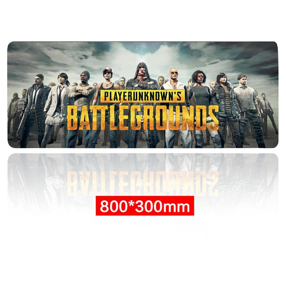 Extra Large Mouse Mat Gaming Pad Battlefield PUBG Game Keyboard Pads Anti-Slip