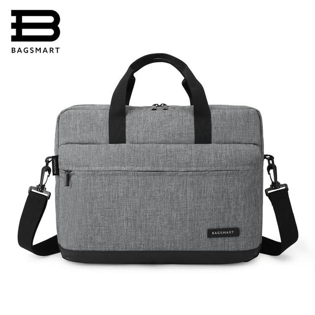 Bagsmart New Men 15 6 Inch Laptop Briefcase Bag Handbag Mens Nylon S Office Bags Business