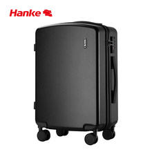 Hanke Luggage Case Trolley Suitcase Spinner Mute Wheel PC Travel Rolling Wheels Luggage Carry On Boarding 20 24 Inch H9820(China)