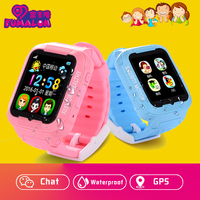 Hot Waterproof Kids K3 Children Smart Watch GPS AGPS LBS Safe Anti Lost Smartwatch With Camera