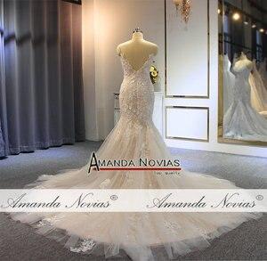 Image 4 - Robe de mariée sirène, avec bretelles, travail réel, bonne qualité, robe de mariée, 2020