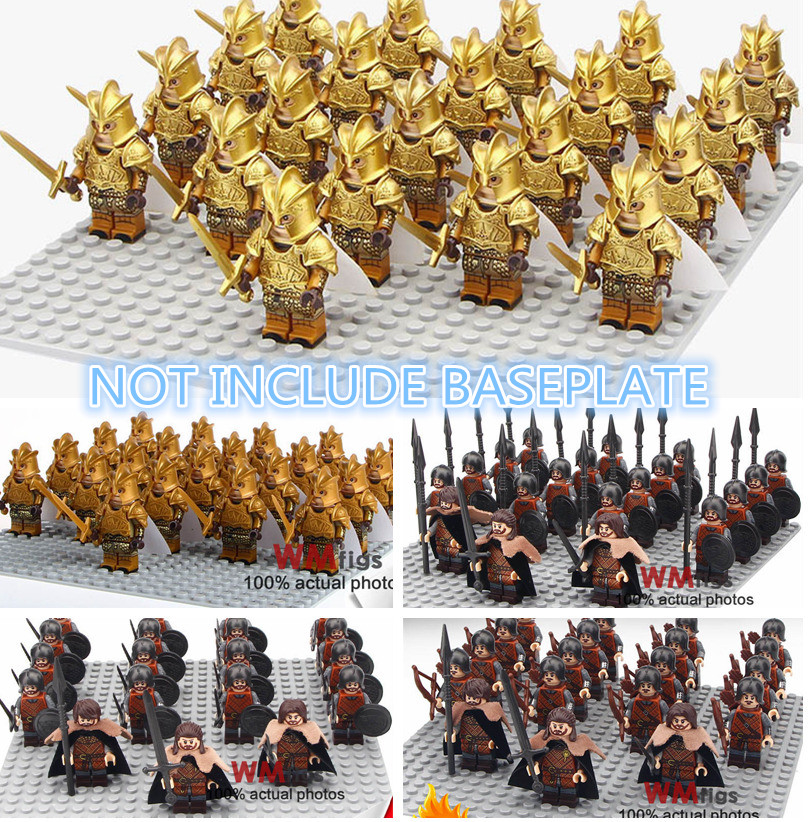 Warriors Fire And Ice Episode 4: 1 Set Of/ Building Blocks Lot Legoings Game Of Thrones Set