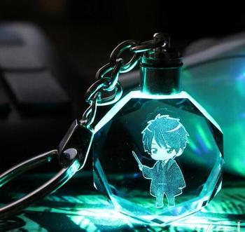 Брелок светящийся кристалл Гарри Поттер