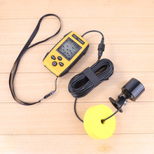 0.1m 100m 200KHz Portable Underwater Sonar Fish Finder Detector Transducer Waterproof Fish Finder  for Ocean River Lake